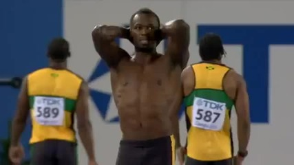Usain Bolt disqualified in 100m Finals - Iaaf World Championships 2011