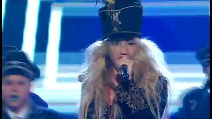 Ke$ha - We R Who We R (live from avstralian X Factor)