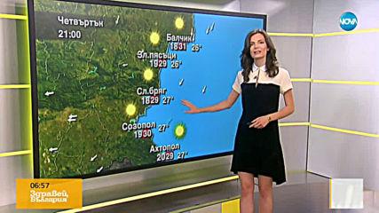 Прогноза за времето (22.08.2019 - сутрешна)