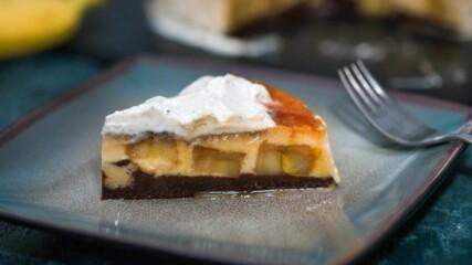 Кодрит Кадир (Карамелена торта) с карамелизирани банани | Бон Апети | 24Kitchen Bulgaria