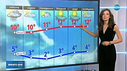 Прогноза за времето (13.12.2019 - централна емисия)