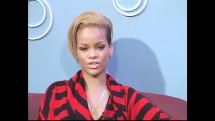 Rihanna отговаря на 5 въпроса на vh1 (3 част)