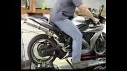 Yamaha R1 2004 Dyno Hindle Exhaust