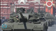 Russia's High-tech Tank Breaks Down During Victory Day Parade Rehearsal