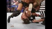 Kane and Undertaker vs Stone Cold Steve Austin and Triple H Всички титли са заложени