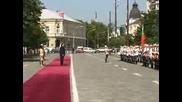 Словенският президент пристигна в България