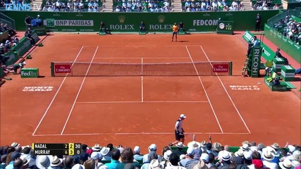 Monte Carlo 2016 - Nadal Tracks Down a Hot Shot