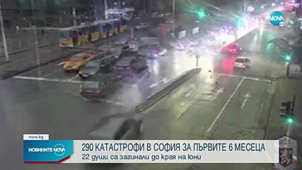 УЖАСЯВАЩИ КАДРИ: Полицията показа записи на тежки катастрофи в София