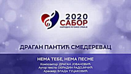 Dragan Pantic Smederevac - Nema tebe nema pesme Sabor narodne muzike Srbije 2020.mp4