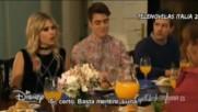 Soy Luna 3 ep.35 Амбър,бенисио,луна и Симон се карат на вечерята в имението + превод