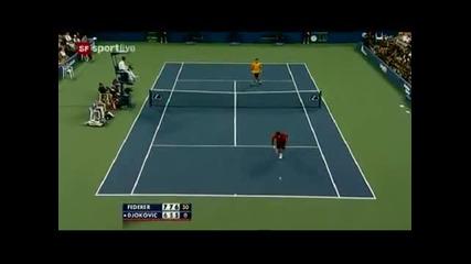 Roger Federer с невероятно отиграване