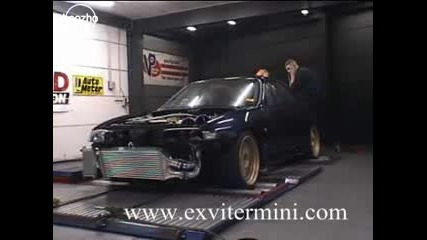 Nissan Skyline dyno test [1158hp]