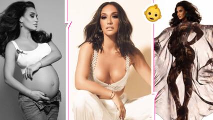 Мария Илиева си показа голото бременно коремче, трогна с послание
