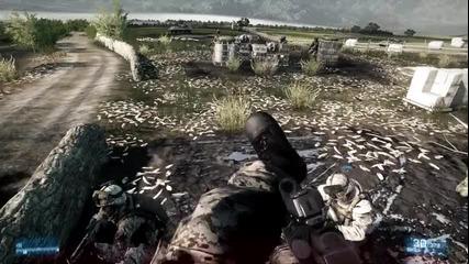 Battlefield 3 - Max Settings Full Hd 1920x1080 - Test on Amd Radeon Hd 5670 Overclock