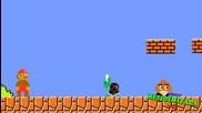 Super Mario срещу Костенурката - Смешна пародия