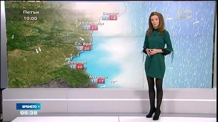 Прогноза за времето (24.10.2014 - сутрешна)