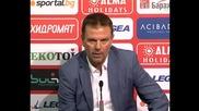Стойчо Младенов: В реванша ще търсим по-бърза игра