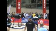 Невероятно ... Мъж Кляка С 650 кг световен рекорд..