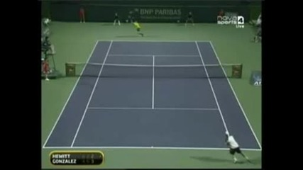 Ms Indian Wells 2009 Хюит vs Гонзалез