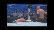 Kane vs Cm Punk - Smackdown 25.06.2010