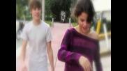 Justin Bieber and Selena Gomez :) )
