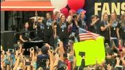 Team USA's Ashlyn Harris -- Obama Has a Crush On Carli Lloyd!