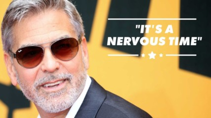 George Clooney is optimistic about the elections