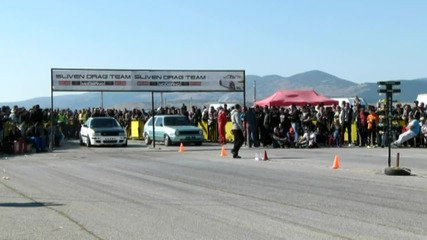 Golf 2 Drag Power New Record 9,427 @ Sliven Drag Racing 06.10.2013