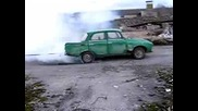 Moskvich Vs. Moskvich (burnout)
