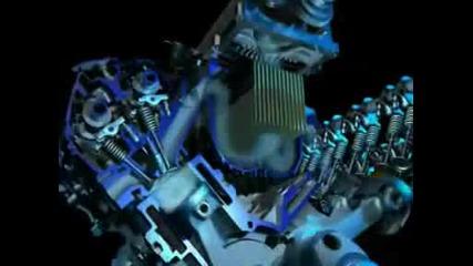 Как работи двигателя на Ford Gt