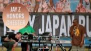 Jay Z remembers Chester Bennington at V Festival