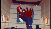 Началните надписи от анимацията Спайдър - Мен (2003)