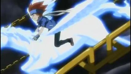 Beyblade Metal Masters Episode 44 - Showdown! Gingka vs. Damian