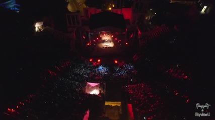 Kонцерта на 2Cellos в Пловдив, заснет с дрон