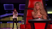 Когато започна да пее , Shakira не повярва на това , което чува !