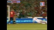 Spain - Belgium 3:0 Goal na Gerard Pique