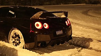 Gtr Snow Launch Control Flamethrower
