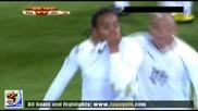 16.06.2010 Юар - Уругвай 0:2 Гол на Перейра Мондиал 2010 Юар