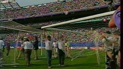Футбол Мексико - България 1994 - Първо полувреме - Част 3/5 (високо качество)