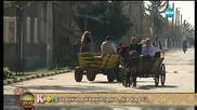 На кафе от село Драгомирово преди състезанието с каруци на Тодоровден (18.03.2016)