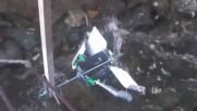 Нова Двустепенна хидрокинетична турбина с надводен вал за понтонни Вец