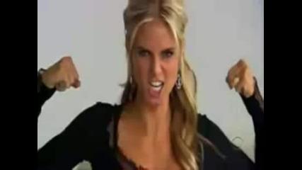 Heidi Clum in Tv *високо качество*