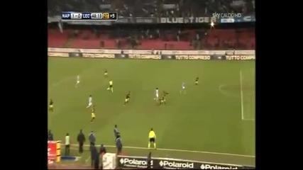 Откачен коментар за гола За Гола На Кавани срещу Лече !