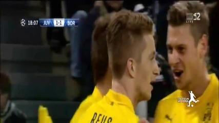 Ювентус - Борусия (дортмунд) 2-1 - (champions League) 24.02.2015