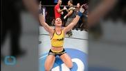 Ronda Rousey to Correia -- DEATH STARE?