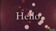 ► Hello ϟ Multifandom✰