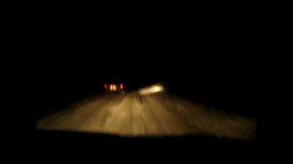Интересна зимна вечер с Мазда 323 4х4