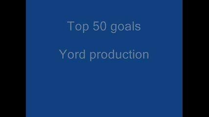Top 50 goals