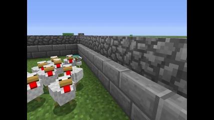 Minecraft - елате пиленца при батко .. !
