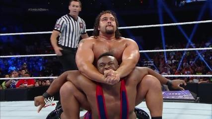 Rusev vs. Big E/ Русев ср. Големия И